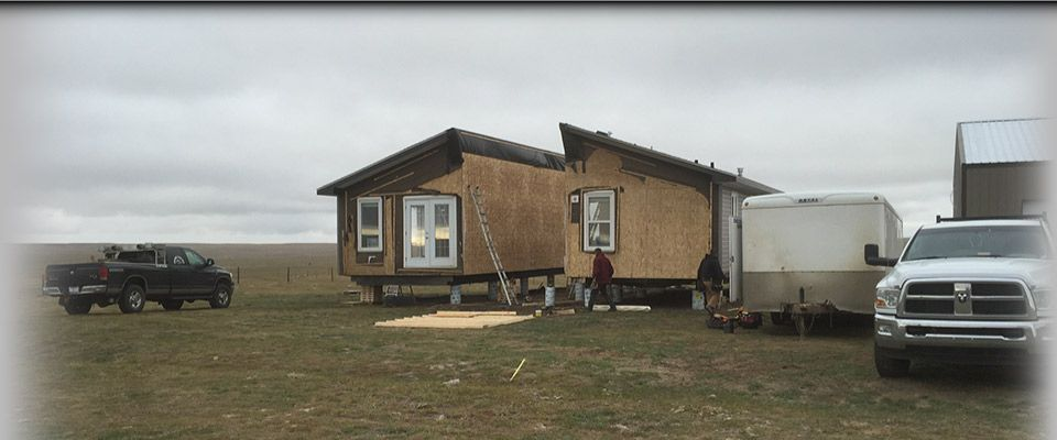 Moved modular home